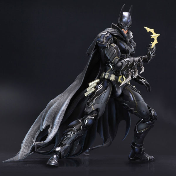 Free Shipping 11 PA KAI DC Hero Batman Blue Black Limited Ver. Boxed 27cm PVC Action Figure Collection Model Doll Toy Gift free shipping 10 pa kai super hero spider man spider man blue ver boxed 26cm pvc action figure collection model doll toy gift