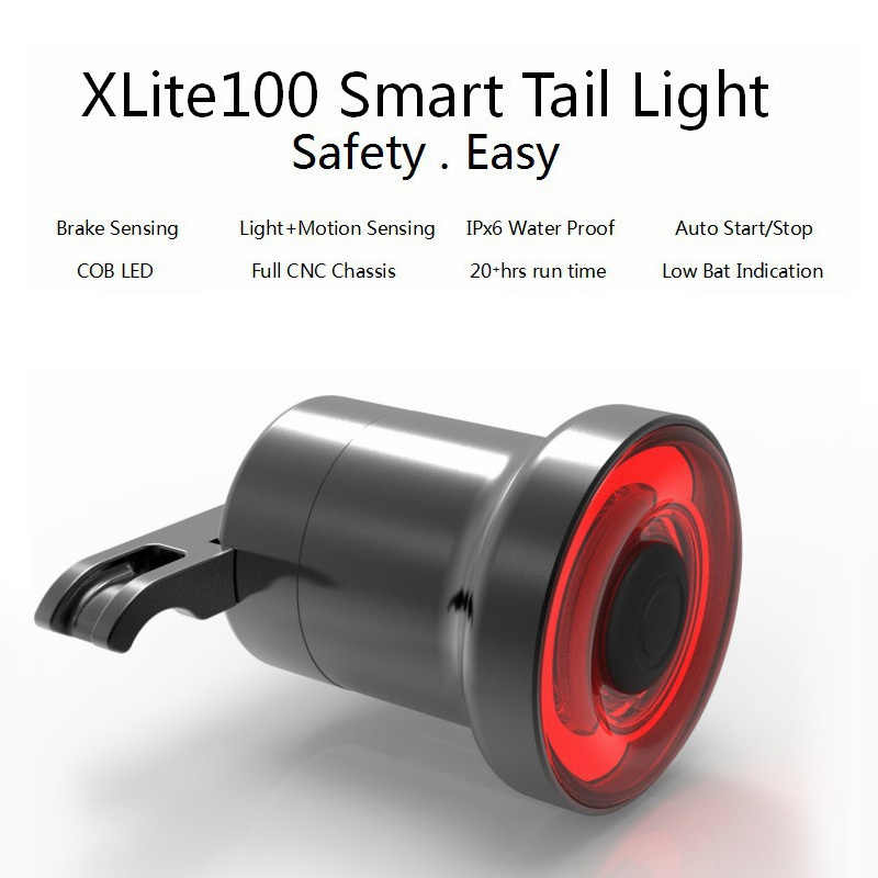 Details about  /Cycling Taillight Bicycle Flashlight MTB Bike Rear Light Auto Start//Stop Brake