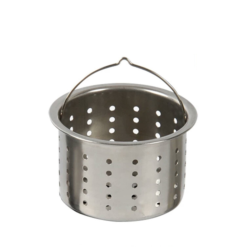 Stainless Steel Sink Drainer Basket.Us 3 74 25 Off Kitchen Sink Drainer 304 Stainless Steel Basket Lifting Cage Washing Basin Water Leakage Filter Pool Net Bag Wx5211650 In Kitchen