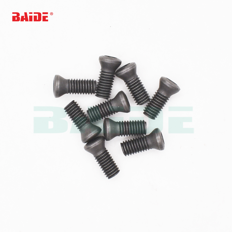 20pcs M1.6 x 4mm Insert Torx Screw for Carbide Inserts Lathe Tool /& Screwdriver