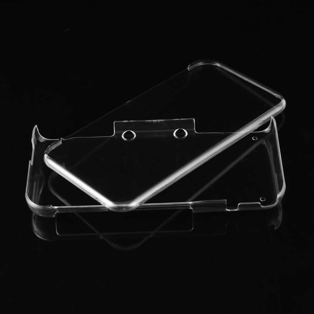 خفيفة الوزن جامدة البلاستيك واضح كريستال واقية هارد شل جراب هاتف جلد لنينتندو جديد 3DS/3DS XL/2DS XL وحدة التحكم والألعاب