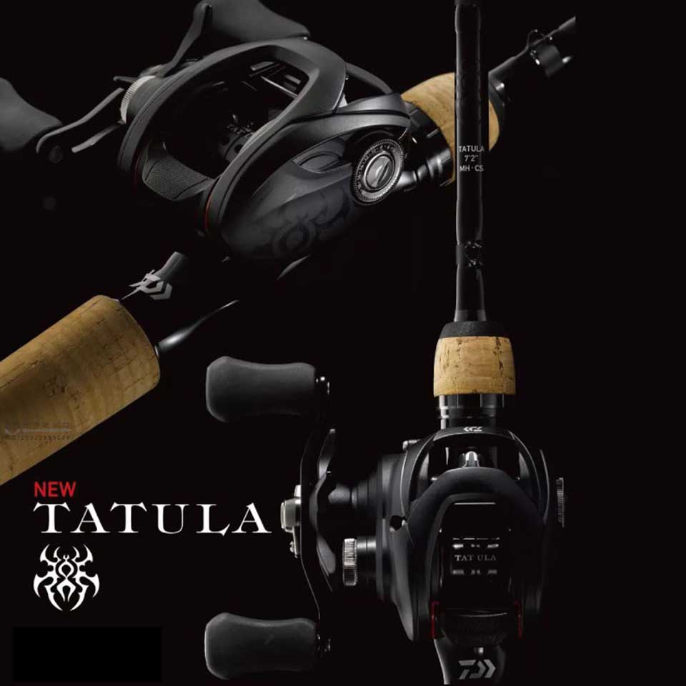 DAIWA TATULA 100/150/200 Baitcasting reel 6.3:1/7.1:1/8.1:1 5-6KG Power TWS system 7BB+1RB CORROSION RESISTANT BALL BEARINGS