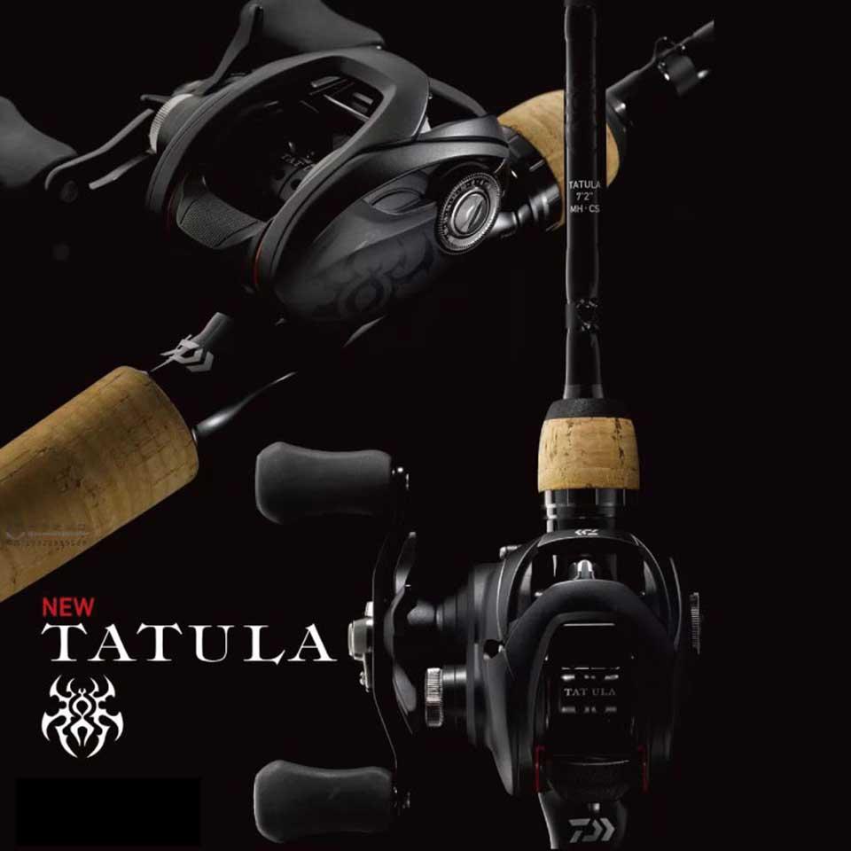 DAIWA TATULA/100/150/200 dos secciones de 6,3: 1/7 1:1/8,1: 1 5-6 KG Sistema de TWS de potencia 7BB + 1RB rodamientos de bolas resistentes a la corrosión