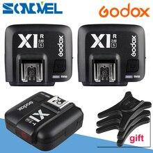 Godox X1S TTL 1/8000s 2.4G Wireless Trigger Transmitter+2pcs X1R-S Receiver for Sony A6500 A6300 A9 A7II A7SII A7R MI Shoe X1T-S