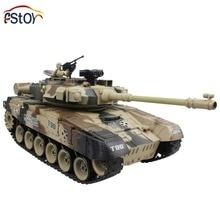 RC Tank 15 Channel 1 20 Russian T 90 Main Battle Tank Model With Shoot Bullet