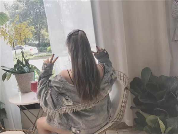 ويتني وانغ 2019 الربيع الخريف أزياء الشارع الشهير بنج بلينغ الماس شرابة ممزق الدينيم سترة النساء أنيق جان معطف