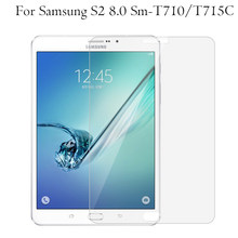 "Premium tempered glass Screen Protector Film For Samsung Galaxy Tab S2 SM-T710C T713 T719C T715C 8.0"" tablet Protector Film(China)"