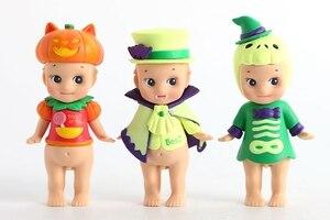 Image 4 - 6 figuras de acción de PVC coleccionables para niños, Mini Serie de Halloween de PVC de 6 estilos, regalo de Navidad