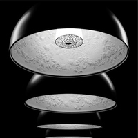 Diameter 40/ 60cm Hot Selling white black Skygarden pendant lamp suspension lighting dinning room living room bedroom bar light