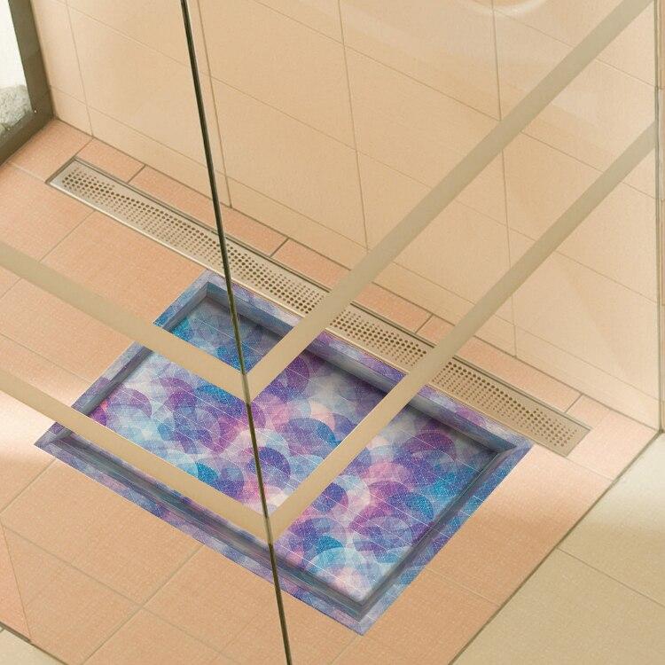 3D wall stickers Bathroom waterproof wall sitcker 3D ...