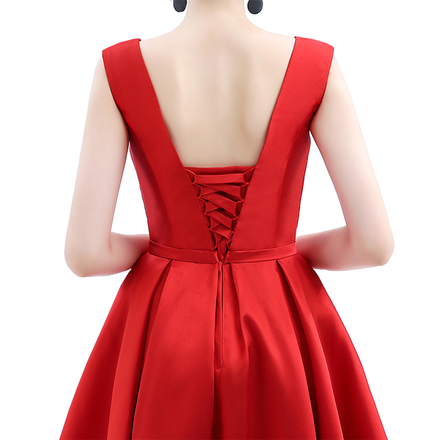 Cocktail Dress - Biking Red - 14 Colors 5