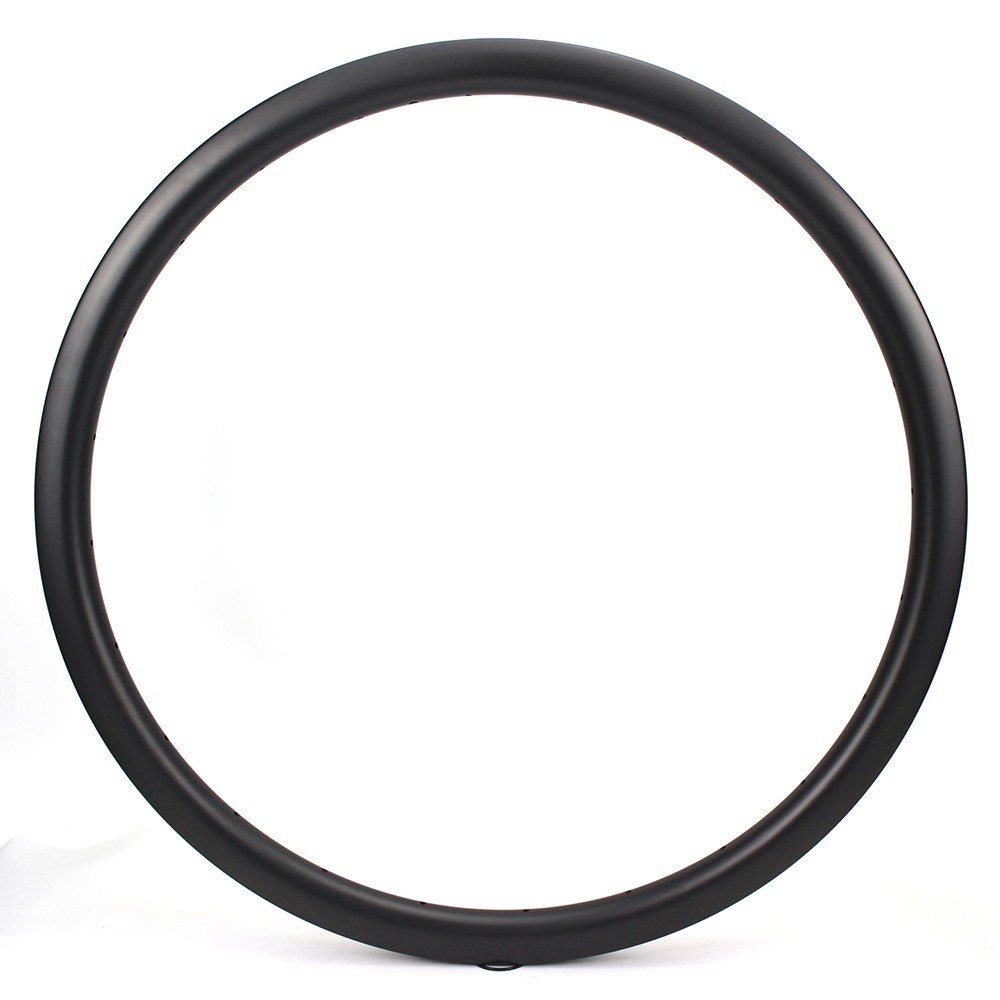 700c Carbon Fiber Rims 35mm UD Matte Surface Clinche / Tubular/ Tubeless For Road Bike Cross Country 700c Carbon Fiber Rims 35mm UD Matte Surface Clinche / Tubular/ Tubeless For Road Bike Cross Country