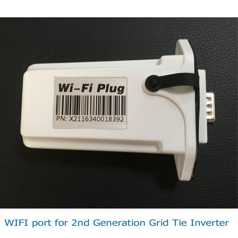 Wi-Fi Порты и разъёмы Разъем для MPPT 1000 Вт/2000 Вт Новое Солнце солнечный инвертор галстук сетки RS485 подключен веб-/телефон приложение на монитори...