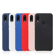 Case for Xiaomi Redmi Note 7 Liquid Silicone Bumper Shockproof Cover Phone Cases Luxury Xiomi Note7