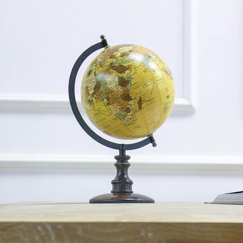Американский кантри Винтаж английский Глобус домашнего декора новоселье подарок коммерче ...