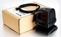 Всенаправленный 1D/2D ПЗС сканер штрихкодов для супермаркет USB POS считывания штрих кода автоматического сканирования