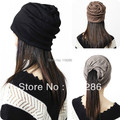 Summer dome piles cap toe cap covering cap turban hat muffler scarf women's cotton casual dual-use cap