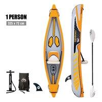 Aqua marina tomahawk Inflatable kayak drop stitch PVC kayak reinforced kayak portable kayak inflatable rowing boat