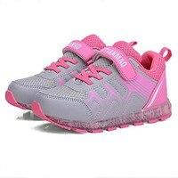 Led luminous Shoes For Boys girls colorful LED shoes kids breathable sport shoes USB rechargable children shoes size 25 37