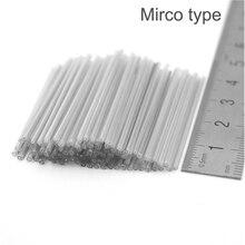 จัดส่งฟรี 200 ชิ้น Micro Fiber optic Fusion Splice Protector 40 มิลลิเมตรเดี่ยว 250um ไฟเบอร์, OD1.3mm