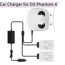 цена на Car Charger Smart Outdoor Transport Remote Controller Intelligent Battery Charging Hub for DJI Phantom 4 Pro 4A Advanced Parts