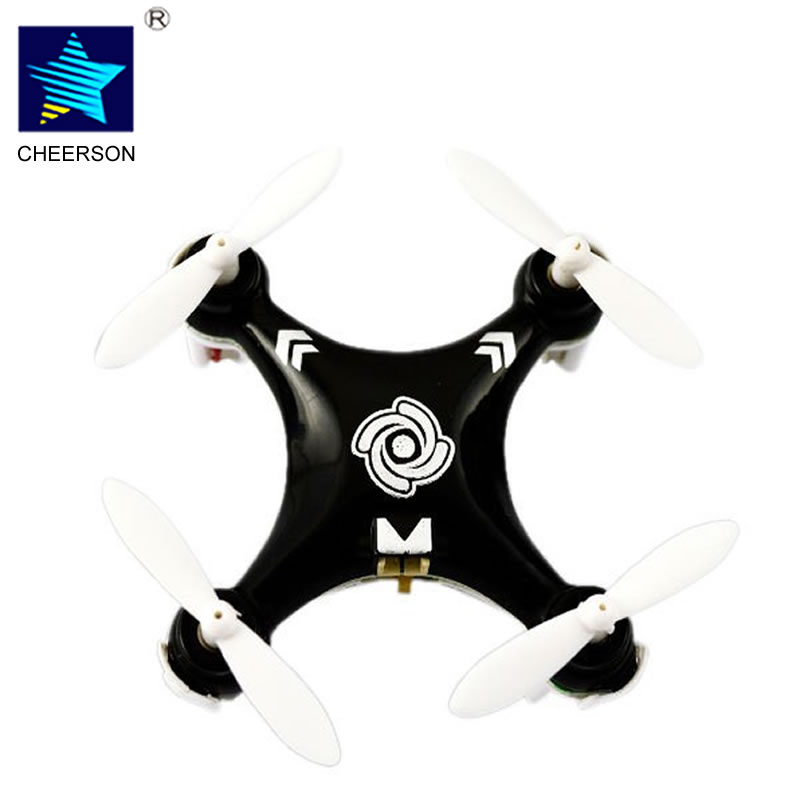 Cheerson RC Helicopter CX10A CX 10A 2 4GHz 4CH RC Mini Drone Quadcopter UFO with Headless