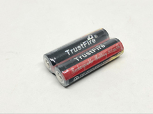 2pcs/lot TrustFire 14500 AA 900mAh 3.7V Protected Li-ion Battery Rechargeable Batteries Free Shipping ultrafire lc 14500 rechargeable 900mah 3 6v li ion battery blue