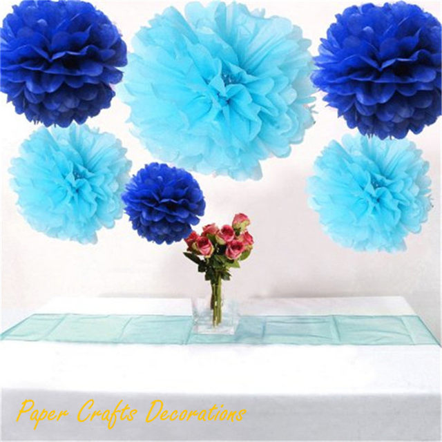 Online shop 34 colors 10inch 25cm handmade folding paper flowers 34 colors 10inch 25cm handmade folding paper flowers balls tissue pom poms holiday party decorations mightylinksfo