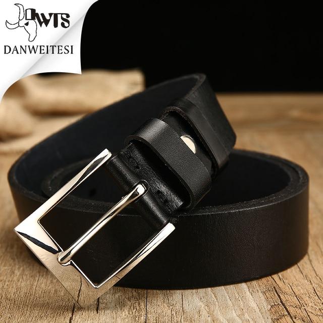 0d387161009  DWTS  véritable ceinture en cuir pour hommes cadeau designer ceintures  hommes de haute qualité
