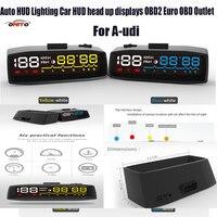 High quality Auto HUD lamps Lighting Car HUD head up displays OBD2 Euro OBD Outlet For Audi A1/A2/A3/A4/A5/A6/A7/A8/Q1/Q3/Q5/Q7
