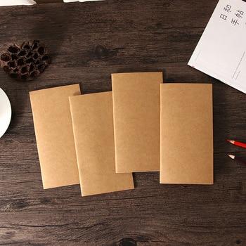 Travelers Notebook Diary Notepad Kraft Paper Planner Weekly Book School Supplies