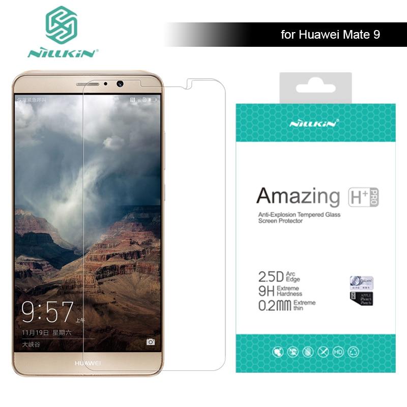 pro Huawei Ascend mate 9 Nillkin 9H Amazing H + Pro 0.2mm Ultra tenké tvrzené sklo Screen Protector pro Huawei Mate 9 Glass