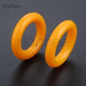 dophee 2pcs Bobbin winder rubber ring for Computer Flat Car for Brother, Pfaff, Juki, Siruba, Singer, Jack(China)