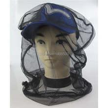 Черная искусственная сетка для головы защитная шляпа рыбалка