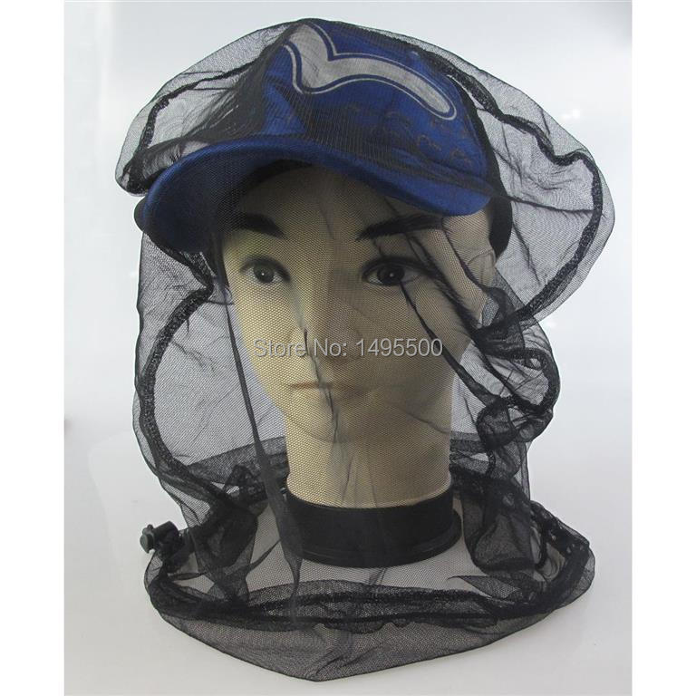 Črni komar bug žuželke čebela mrežica zaščitite klobuk ribolov - Kampiranje in pohodništvo