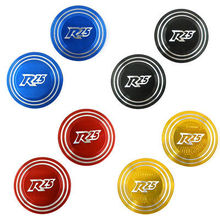 Gold CNC Aluminum Axle Axis Caps Cover For 2014-2015 Yamaha YZF R25 R3 цена и фото