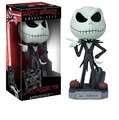 Jack SkellingtonQ Free Shipping FUNKO The Nightmare Before Christmas Jack Wacky Wobbler Bobble Head PVC Action Figure Collection