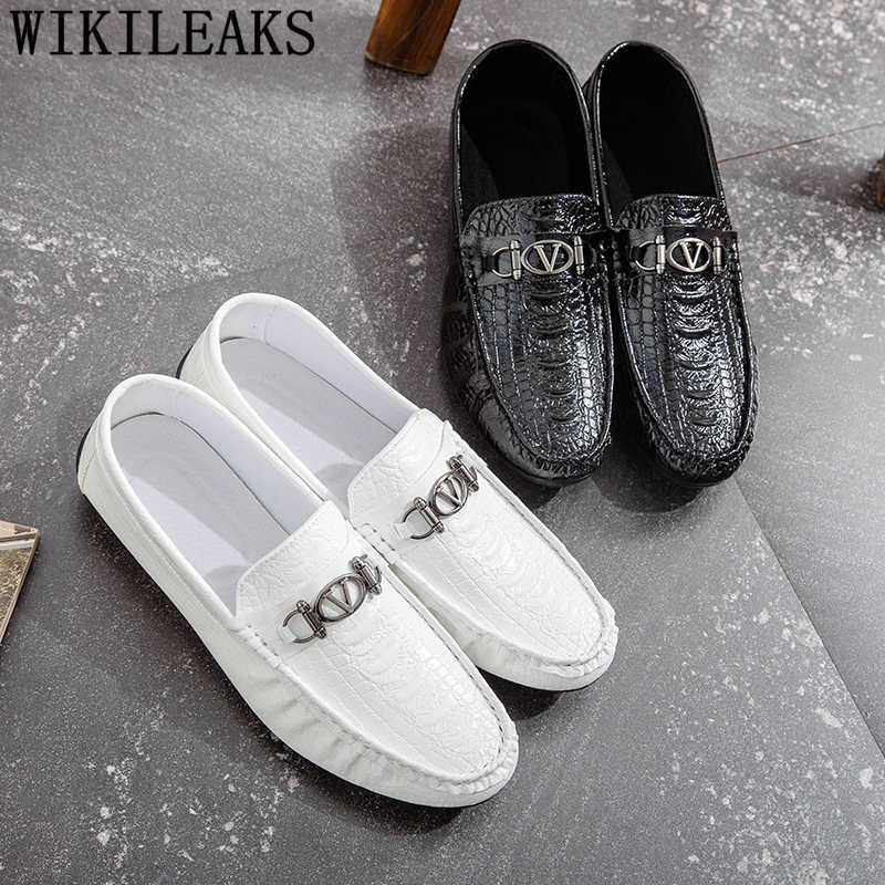 Erkek mokasen ayakkabıları erkek ayakkabı rahat sürüş ayakkabısı yaz ayakkabı erkekler deri lüks marka erkek ayakkabi chaussure homme buty meskie