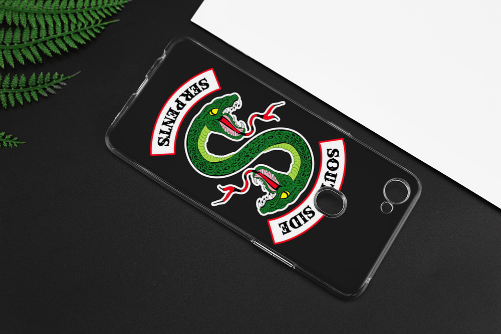 American TV Riverdale TPU Silicone Clear Soft Transparent Case Cover Shell For Oppo F5 F7