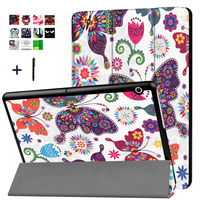 For HUAWEI MediaPad T3 10 9 6 Case Stand Flip Leather Capa For Huawei T3 10