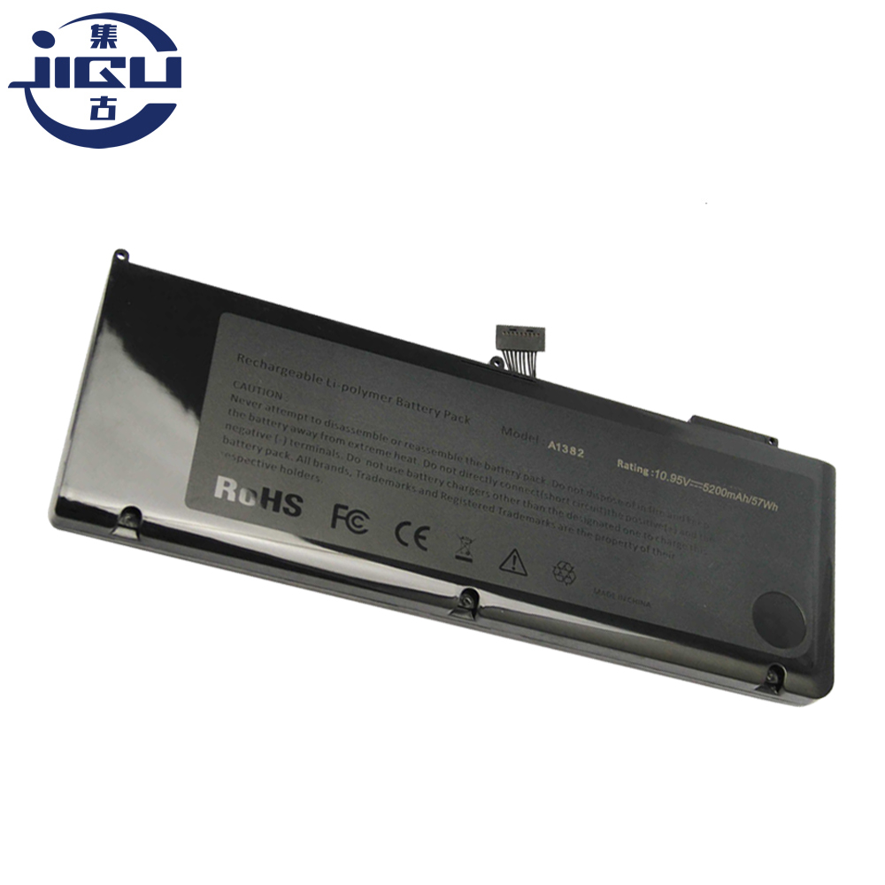 JIGU Brand New  Laptop Battery For Apple A1382 I7 A1286 MD318 MD322 MC721LL/A, A1286, MacBookPro8,2JIGU Brand New  Laptop Battery For Apple A1382 I7 A1286 MD318 MD322 MC721LL/A, A1286, MacBookPro8,2