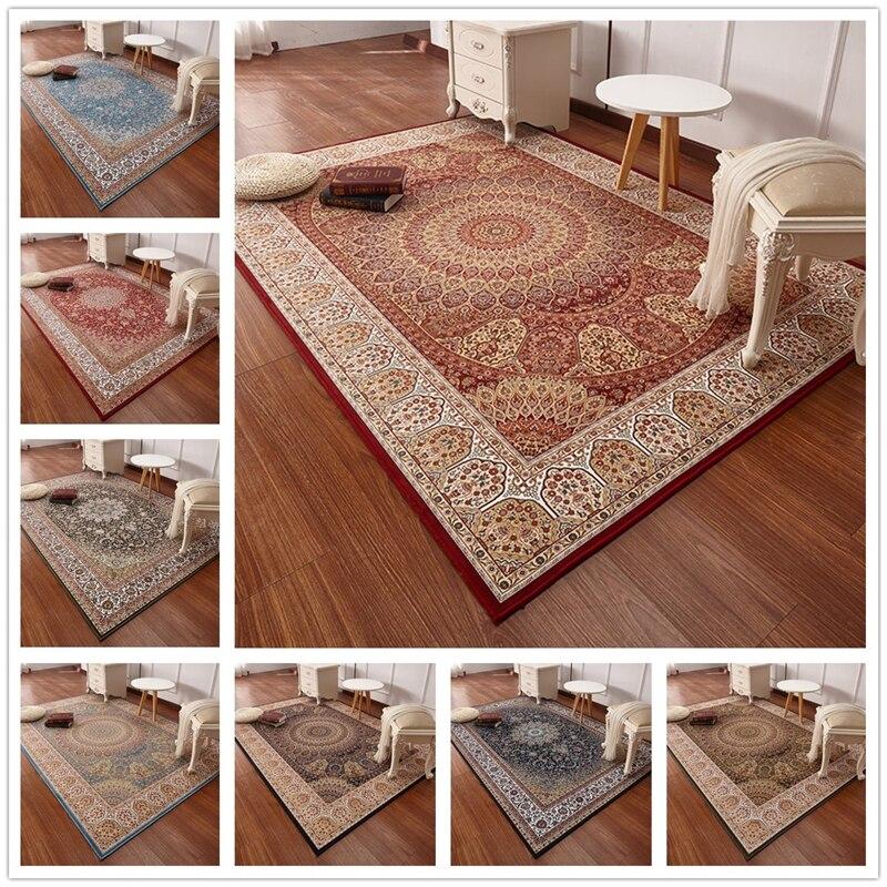 Style Persan Tapis Pour Salon Grand 200x290 Cm Chambre Tapis Et Tapis Classique Turquie Etude Tapis De Sol Table Basse Zone