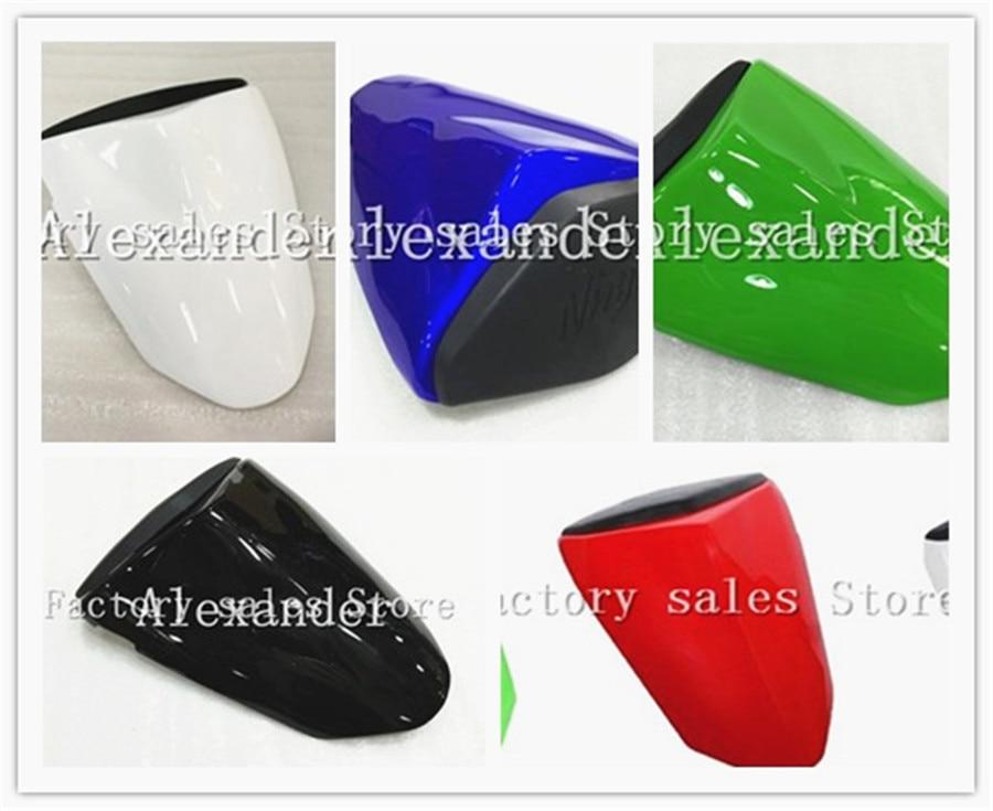 For Kawasaki Ninja ZX6R 636 2009 2010 2011 2012 213 2014 2015 2016 Bike Rear Seat Cover Cowl Solo Seat Cowl Rear ZX-6R