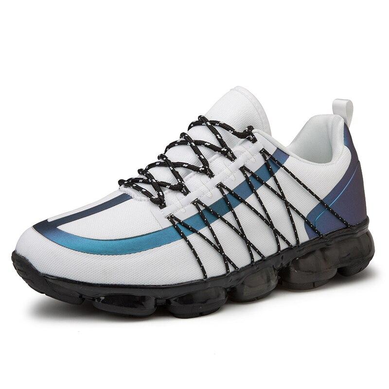 2019 nouveauté hommes chaussures de Tennis Style populaire en plein air Jogging baskets à lacets hommes chaussures de sport confortable livraison gratuite