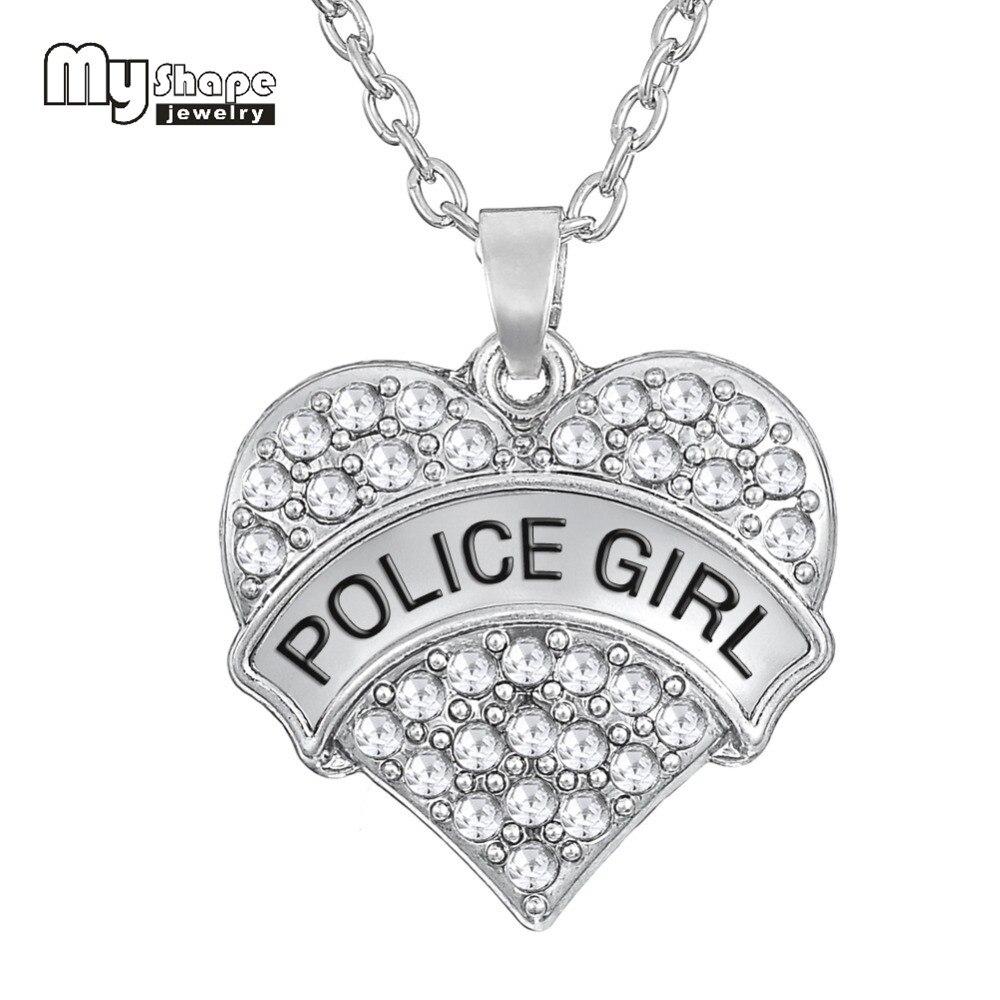Alloy Metal Heart Shape My Girl Crystal Bracelets Charm Bracelets