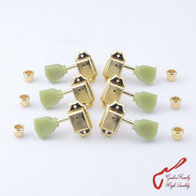 1 Set  GuitarFamily 3R-3L Vintage Guitar  Machine Heads Tuners  Gold  ( #1146 ) MADE IN KOREA