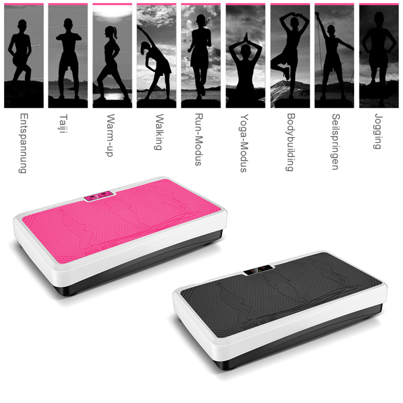 Slimming machine remotely control fat burning muscle massager vibration board slimming weight loss device fitness equipment HWC-in Vibration Fitness Massager from Sports & Entertainment    3