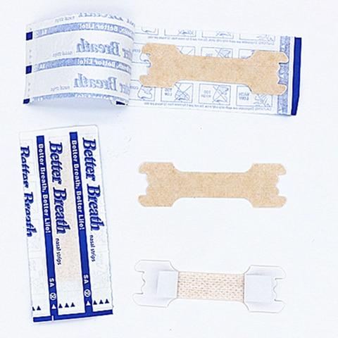 5000 pcs lote 66x19 mm cuidados pessoais produto anti ronco dilatador nasal respirar direito tiras