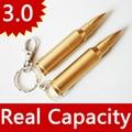 HOT Bullet Gold USB Flash Drive 3.0 Pendrive 64GB 8GB 16GB USB 128GB Memory Stick Pen Drive 512GB Gift Disk On Key 32GB 256GB