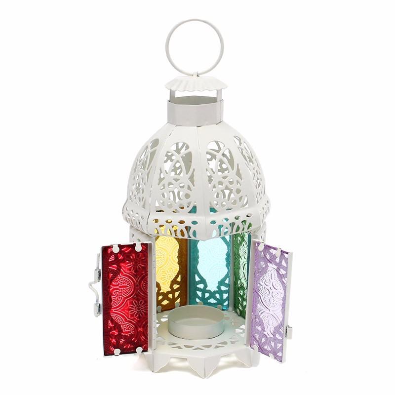 kiwarm verre fer moroccan ravir jardin bougie titulaire table suspendus lanterne fine pour accueil parti dcoration - Inno Be Liste De Mariage